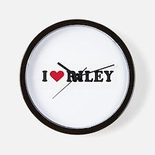 I LOVE BOYS ~  Wall Clock