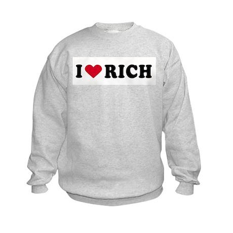 I LOVE BOYS ~ Kids Sweatshirt