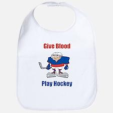 Give Blood, Play Hockey Bib