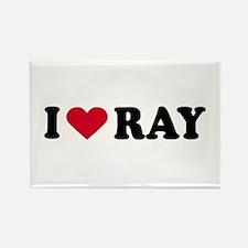 I LOVE BOYS ~ Rectangle Magnet
