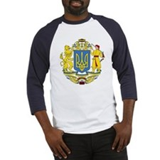 Ukraine Coat of Arms (Front) Baseball Jersey