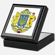 Ukraine Coat of Arms Keepsake Box