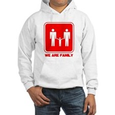 we are family red Jumper Hoodie