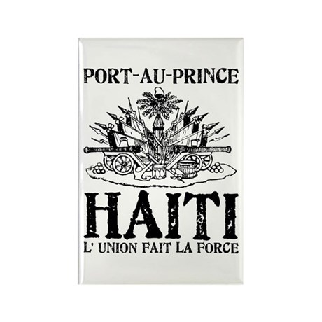 Haiti Rectangle Magnet (10 pack)