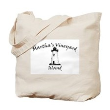 Edgartown Lighthouse Tote Bag