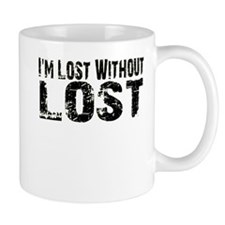 I'm lost without Lost TV show Small Mug