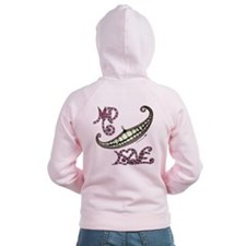 Mad Love chesire smile Zipped Hoody