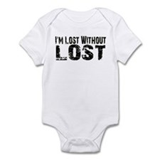 I'm lost without Lost TV show Infant Bodysuit