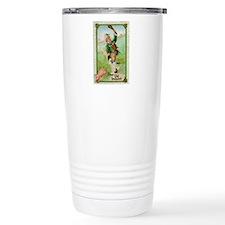 St Pats Leprechaun Travel Coffee Mug