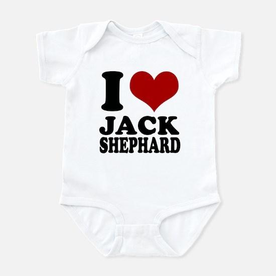 Lost I heart Jack Shephard Infant Bodysuit