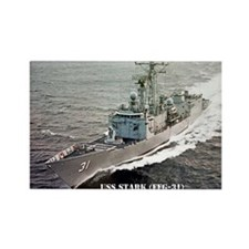 USS STARK Rectangle Magnet (100 pack)