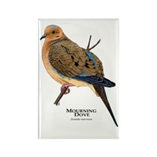 Mourning Dove Rectangle Magnet