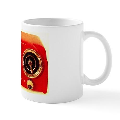 1953 Red Crosley Coffee Mug