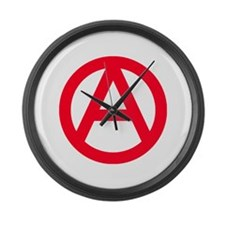 anarchy Large Wall Clock