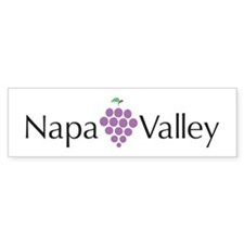 Napa Valley Bumper Bumper Sticker