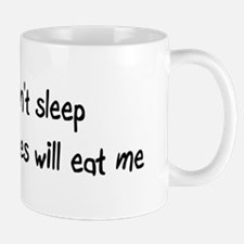 Can't sleep Vampires will eat me Mug