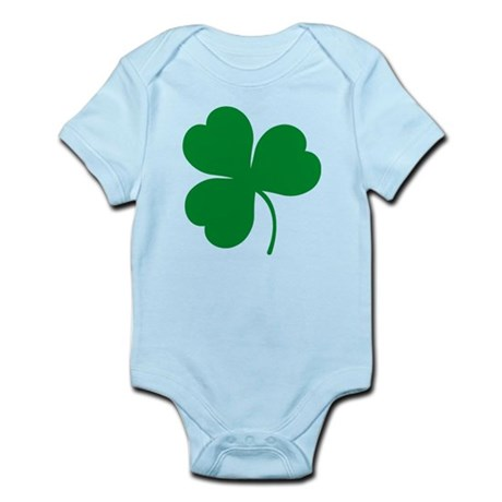 Ireland Irish Clover Infant Bodysuit