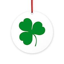 Ireland Irish Clover Ornament (Round)