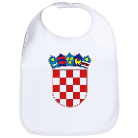 Croatia Coat of Arms Bib