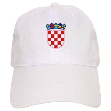 Croatia Coat of Arms Cap
