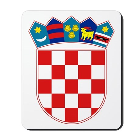 Croatia Coat of Arms Mousepad