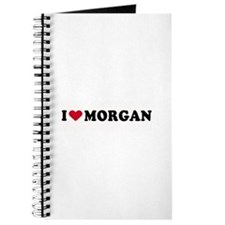 I LOVE MORGAN ~ Journal