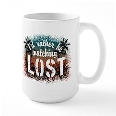 Watching Lost Large Mug
