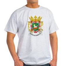 Puerto Rico Coat of Arms (Front) T-Shirt