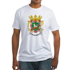 Puerto Rico Coat of Arms (Front) Shirt