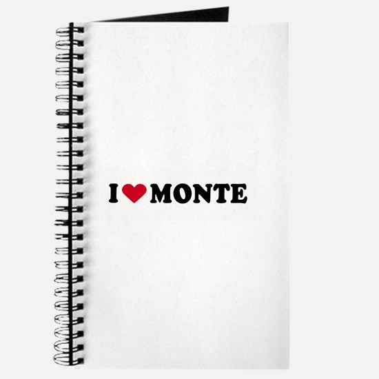 I LOVE MONTE ~ Journal