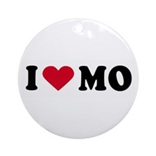 I LOVE MO ~  Ornament (Round)