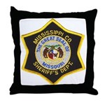 Mississippi County Missouri Throw Pillow
