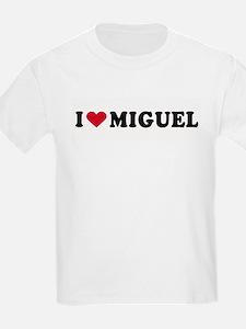 I LOVE MIGUEL ~  Kids T-Shirt