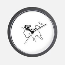 This is Sparta! Wall Clock