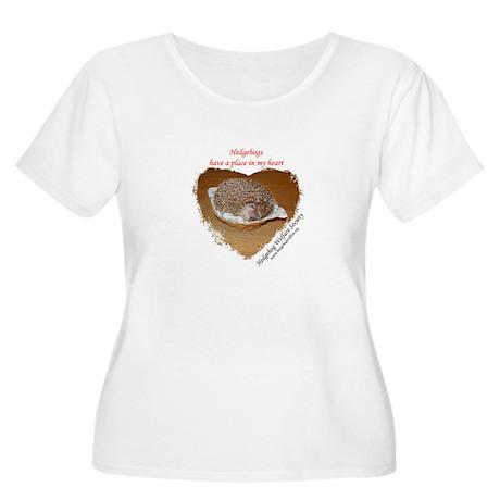 HWS Women's Plus Size Scoop Neck T-Shirt