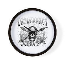 Lost Band Driveshaft Grunge Wall Clock