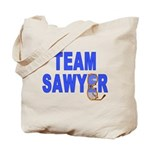 Lost TEAM SAWYER Tote Bag