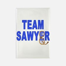 Lost TEAM SAWYER Rectangle Magnet