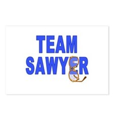 Lost TEAM SAWYER Postcards (Package of 8)