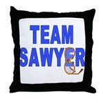 Lost TEAM SAWYER Throw Pillow