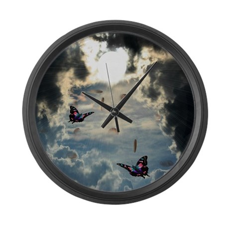 Pennies From Heaven Large Wall Clock