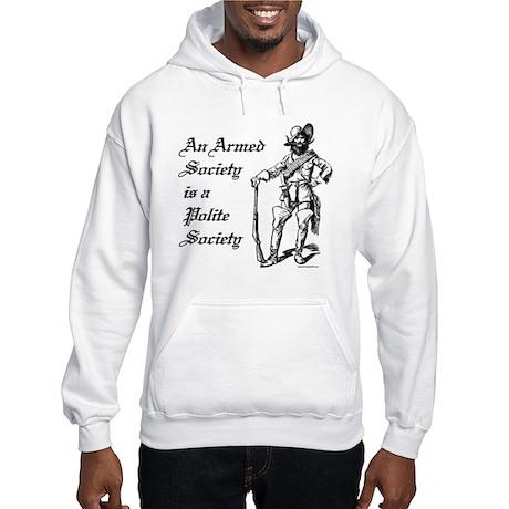 An Armed Society Hooded Sweatshirt