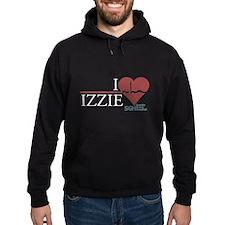 I Heart Izzie - Grey's Anatomy Hoodie