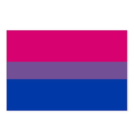 Bisexual Pride Postcards (Package of 8)