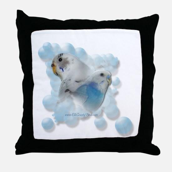 Elk County Birds' Throw Pillow