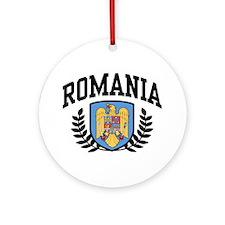 Romania Ornament (Round)