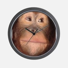 Cute Chimpanzees Wall Clock