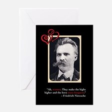 Friedrich Nietzsche Anti-Valentine's Day Card #1