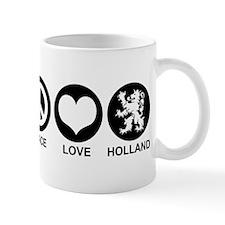 Peace Love Holland Mug