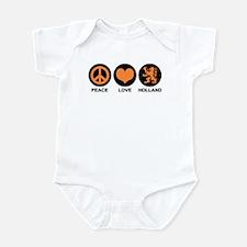 Peace Love Holland Infant Bodysuit